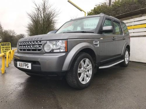 *** SOLD*** discovery 4 SDV6 3.0 GS Auto 7 Seater 2011